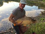 happy Guest ! caught on first cast,