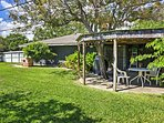 Look forward to relaxing on the spacious private patio of this wonderful vacation rental home!