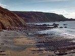 Stunning coastline near Hartland
