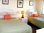 2nd Bedroom has Full and Twin beds; great for a second couple or visitor during your stay.