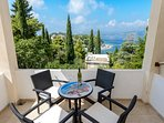 Apartment 4 balcony offering lovely view of Tiha bay