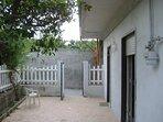 Una parte della veranda.