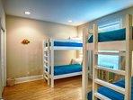 3rd Floor Bunkroom 4 Twin Sized Beds