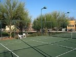 North Pool Recreation Tennis Court