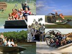Crew your own exciting HIGH SPEED, Air boat Ride