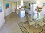 Dining Seating for six,Bar Stools, Fully Equipped  Kitchen,Florida Keys Vacation