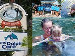 Swimming with Dolphins a lifetime favourite memory
