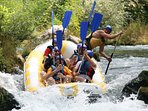 rafting on river Cetina, something what you have to try