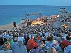 Le Théâtre de la Mer, lieu de concerts atypique