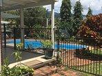Patio, Pool & Gardens