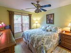Pearson Lane master bedroom with king bed,