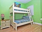 Guest Bedroom 1 - Twin/Full Bunks