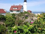 Visit nearby lighthouses and enjoy spectacular coastal Maine views.
