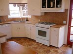 Professional chef appointed equipped kitchen.
