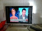 Flat screen t,v set for every studio with satellite channels including CNN, BBC etc..