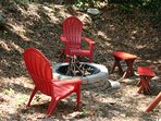 RED CREEK CABIN: Fire Pit