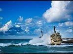 Edro Shipwreck Sea Caves
