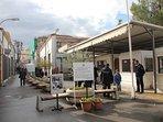 travel through time at Nicosia's Ledra Street into Northern Cyprus