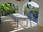 1st floor porch with seaview
