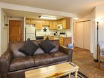 Trails End 310 Living Area Breckenridge Lodging Vacation Rentals