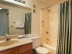 Trails End 310 Guest Bathroom Breckenridge Lodging Vacation Rent