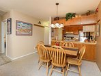 Grandview 19C Dining Area Breckenridge Lodging Vacation Rentals