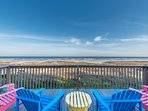 Relax and enjoy some wine while taking in this breathtaking view!