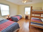 2nd bedroom on 2nd level - 4 twin beds