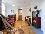 The Snug Room with wood burning stove