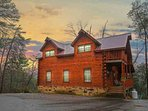 Paws and Unwind - Your Perfect Smoky Mountain Vacation Getaway - Log Cabin is located in the Sky Harbor area of...