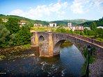 Sunbilla, el pueblo. Puente medieval