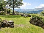 180 degree views  from Melbreak beyond Crummock water around to the Scottish mountains in the north.