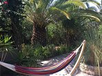 free use of hammock in your own  garden