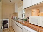 Well-equipped galley kitchen