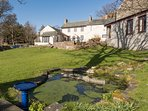 Little Swinside is joined to two other cottages with a lovely shared garden...