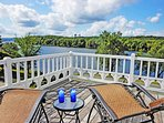 Glorious River views off the 3rd floor master bedroom deck