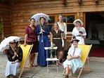 7 tolle Frauen erleben den JGA im Schwarzwald Blockhaus in Schenkenzell