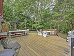 Have a cook out on the spacious deck!