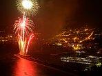 Fuegos Artificiales desde el Mar (Fiestas del Loreto 8 septiembre)
