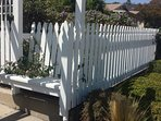 ...white picket fence