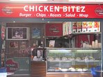 Takeaway Food Outlet for Chickens, Salads and Coffee etc.
