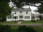 Classic New England Farm House