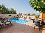 Villa Kalypso is a bright, stylish newly built villa, in an idyllic location!