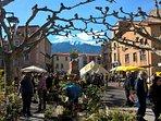 Les premiers marchés de printemps à Prades