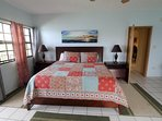 Master Bedroom: King bed