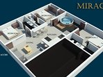 3D Rendering of the Apartment