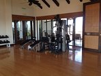 State of the Art Gym Overlooking the Pacific Ocean