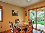 Gather around the dining table to enjoy your tasty home-cooked meals!