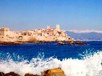 Beautifal old Antibes on walking distance
