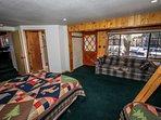 Breezy One-Bedroom 1-Full/Twin Bunk Plus Queen  Bed